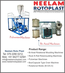 mfg of : Rotomoulding Machinery & Spares